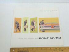 1959 Pontiac Bonneville, Chief, Catalina Sales Brochure