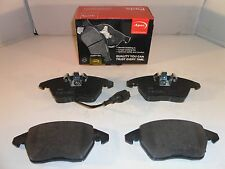 VW Beetle Caddy Golf Jetta Passat Polo Touran Front Brake Pads 2003 Onwards APEC