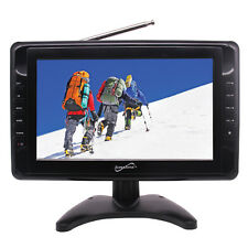 "Supersonic SC-2810 10"" Portable Digital Widescreen LCD TV USB SC/MMC NEW"