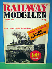 RAILWAY MODELLER JUNE 1981 > THE LYN VALLEY RAILWAY in SM32 SCALE ~ SEE PHOTO'S
