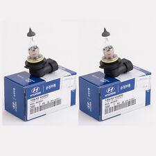 QTY=2 Genuine OEM Hyundai Elantra Tiburon 9006/HB4 Headlight Bulbs 18649-55009