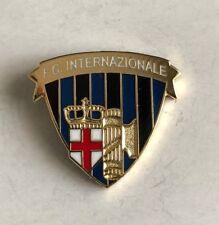 INTER FC PINS DI PRESTIGIO SCUDO CON CORONA E FASCIO PINS 21 clips (bottone) NEW