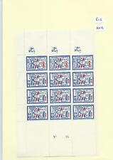 CINDERELLA -SM513- GB STRIKE MAIL -LONDON/ATHENS -25p/50p se tenant - BLK OF 12