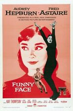 Funny Face Audrey Hepburn Movie Poster 24x36