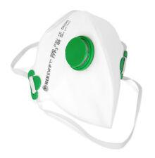 Flat Fold P3 Valved Face Mask Plaster DIY Builder Head Strap Sealed Foldable