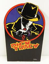 """1990 Walt Disney Dick Tracy 17"""" Cardboard Standee By Starmakers ^ Warren Beatty"""