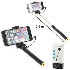 Perche Selfie Compacte Telescopique Pour Motorola Moto E4 Plus