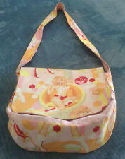 """LIEBCHEN MESSENGER-STYLE PURSE / GENTLY USED / 10.5""""X10.5""""X4"""" / STRAP 38"""" LONG"""