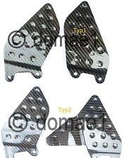 Honda CBR900RR carbon fiber heel guards SC44 929 / SC50 954 2000-2003 plates