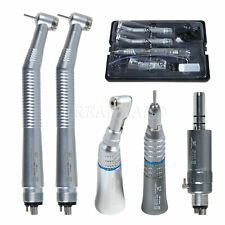 Yabangbang Turbine Dental High Speed Handstück mit Low Speed Handstück Kit 4Hole