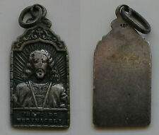 MEDALLA ANTIGUA RELIGIOSA DE JESUS DE MEDINACELI . PLATA . 1,68 gr / 22 mm