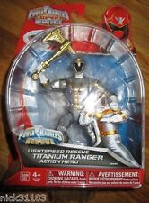 Power Rangers Super Megaforce LIGHTSPEED RESCUE TITANIUM RANGER 38221 RYAN