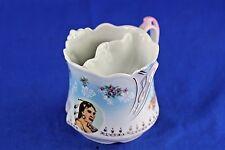 Antique Porcelain Shaving Mug Hand Painted Indian Portrait No 1205