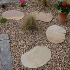 Pack of 6 stepping stones Lakeland, natural paving, sandstones