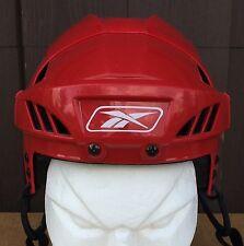 Reebok 8K Pro Stock Hockey Helmet White Black All Sizes New 5002