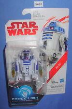 "Star Wars 2017 R2-D2 Force Link Last Jedi Collection 3.75""  Figure MOC"
