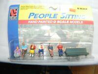 LIONEL POLAR EXPRESS FIGURES O GAUGE train people conductor boy 6-84328-F BEARD