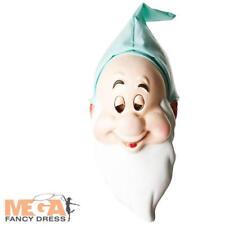 Sleepy Dwarf Mask Adults Fancy Dress Snow White & The Seven Dwarves Costume Acc