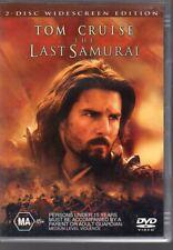 THE LAST SAMURAI - DVD R4 (2004) 2-Disc Set - Tom Cruise - LIKE NEW - FREE POST