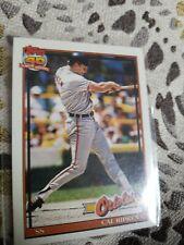 1991 Topps CAL RIPKEN CARD #150 NM