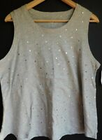 NWT Gap Women's Sleeveless Easy Swing Tank Top Round Hem Hearts XS S M L XL New