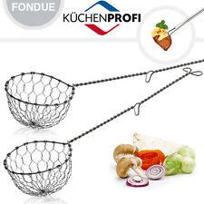 Küchenprofi - Siedelöffel / Fonduelöffel 2er Set