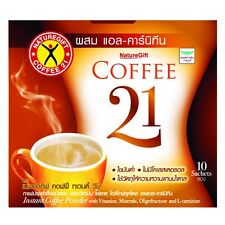 21 Naturegift Coffee Diet Slimming Weight Management Low Fat L Carnitine Plus