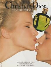 PUBLICITÉ PAPIER - ADVERTISING PAPER TENDRE POISON DIOR N°1