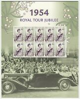 2004 STAMP PRESENTATION MINI SHEET/PACK 'ROYAL TOUR JUBILEE' 10 x 50c MNH STAMPS