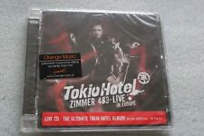 Tokio Hotel - Zimmer 483 live in Europe CD POLISH STICKERS,