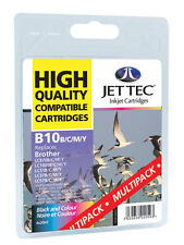 12 x Jet Tec Brother LC37 LC57 Premium UK Inkjet Cartridges + Free Paper