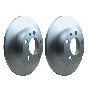 Rear Brake Discs 232mm 53955PRO fits VW GOLF MK IV 1J1 1.6 1.9 TDI 1.8 GTI 2.0