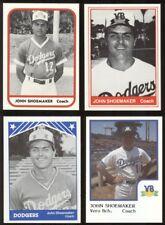 1981-86 John Shoemaker Card Lot (4) - Chillicothe, Waverly OH, Dodgers, AJ90