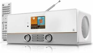 Hama DIR3115MS Internetradio Digitalradio DAB Spotify Multiroom weiß DIR3115