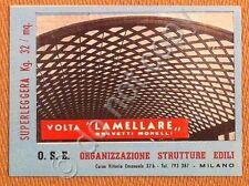Materiali edili - Biglietto da visita - O.S.E. - tondino ferro - Milano anni '50