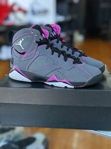 Pre Owned Air Jordan 7 Retro Shoes Grade School Size 6Y with og box