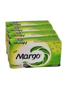 4 Bars of 100 grams Margo Original Neem Body Skin Soap Bars For Acne Pimples