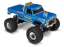 Traxxas 36034 1 Bigfoot Remote Control Monster Truck Blue