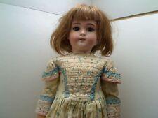 ANTIQUE BISQUE Doll SIMON & HALBIG Germany DEP 1079