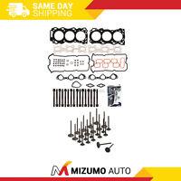 Head Gasket Set Intake Exhaust Valves Fit 05-09 Nissan Suzuki 4.0 DOHC VQ40DE