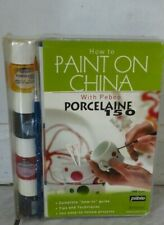 How to PAINT ON CHINA With Pebeo PORCELAINE 150