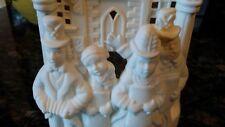 PartyLite Candle Votive Christmas Carolers Street Scene Holder