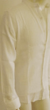 BNWT men cheese cloth gap shirt WHITE ,matching buttons long sleeveSize S