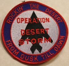 F-117 Stealth Fighter Desert Storm Air Force Patch