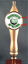 Custom Golf Beer Tap Handle knob tapper for Kegerator or Faucet