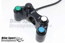 KTM RC8 race bike 4 button handlebar switch, Mode, Lap, Nemesis TC+ / TC-