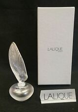 LALIQUE SHELL PERFUME BOTTLE *NEW IN BOX*