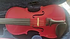 Rainbow 1/2 size Pink Violin, with case and Purple Bow