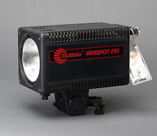 Multiblitz Varispot 250 Studio Lighting Flash Head 250w