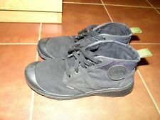 Palladium Pallaville Hi  Mens Canvas Trainers Boots Military Black 9 UK